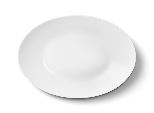 Pinggan oval, 33 cm