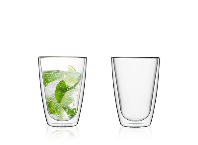 Doppelwandige Gläser, 250 ml