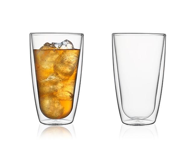 Doppelwandige Gläser, 350 ml