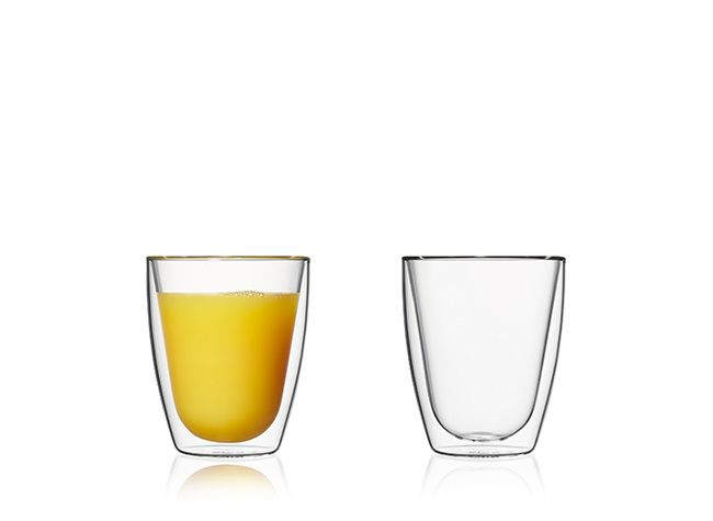 Doppelwandige Gläser, 180 ml