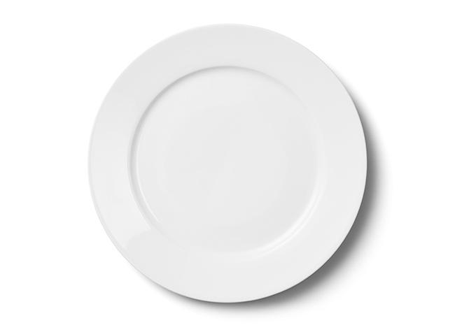 จานสำหรับรับประทานอาหารเย็น 27 ซม.
